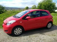 2009 Toyota Yaris 1.3 petrol £30 yearly tax
