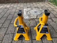 Axle stands 2 tonne