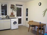 ****Short/Long term : One double in garden flat just off Brick Lane from the 1st July****