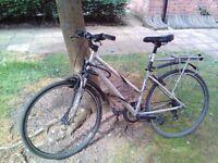 TRECK 7100 FX Hybrid bicycle