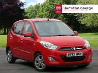 Hyundai i10 1.2 Active 5dr (red) 2012