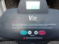 V Fit Motorised Treadmill /Running machine