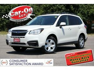 2017 Subaru Forester 2.5i AWD REAR CAM HTD SEATS ONLY 20,000 KM