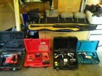 Milwaukee makita hilti Panasonic power tools in Good condition