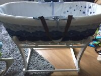 Moses basket as good as new