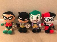 "x4 Genuine DC Comics Batman 12"" Plush/Soft Toys."