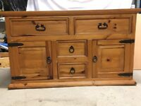 Rustic Solid Wood Furniture for Bedroom, Dining Room or Lounge,