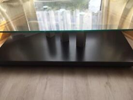 Excellent condition glass table RRP: £110