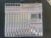 10 channel powered mixer DJ PA
