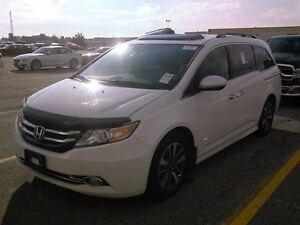 2014 Honda Odyssey TOURING- NAVI-LEATHER-DUAL DVD