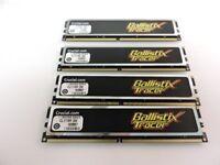 4GB (4 x1GB) CRUCIAL BALLISTIX TRACER DDR2.