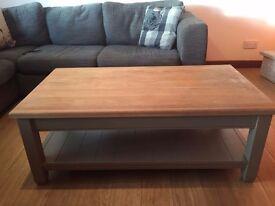 Neptune Oak Coffee Table