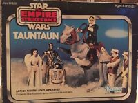 VINTAGE STAR WARS/EMPIRE STRIKES BACK/RETURN OF THE JEDI/TAUNTAUN BOXED COMPLETE WITH INSERTS.