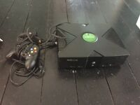 X box first generation with controller
