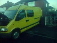 Renault master lwb (ideal for camper conversion)in excellent running order bargain £2295
