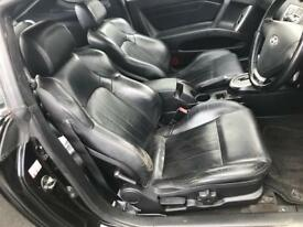 Hyundai coupe full black leather interior