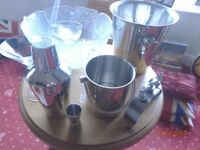 BARGAIN!!!! - Cocktail Shaker - 2x Ice Buckets - Punch Bowl Wine Gear +more