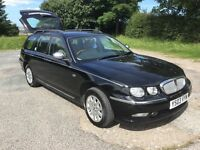 SACRIFICE, ROVER 75 CONNOISSEUR CDT 2-0 TOURER TURBO DIESEL ESTATE CAR £895 MOT MAY'18 P/X CARDS DEL