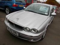 JAGUAR X-TYPE 2.0 V6 SE*2003 REG *FULL YEARS MOT*LOW MILES*SERVICE HISTORY* BARGAIN AT ONLY £1295**