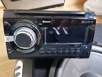Sony CD player and GBL sub and amp