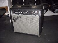 Fender Frontman 15W Guitar Amplifier Rarely used