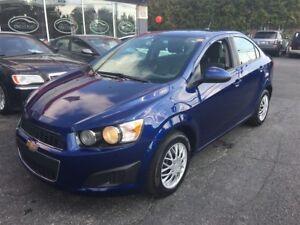 2014 Chevrolet Sonic LS GARANTIE GM $25/sem* 0$ Dépôt