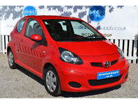 TOYTA AYGO Can't get car finance? Bad credit, unemployed? We can help!