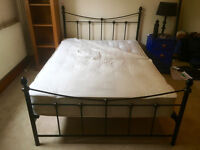 Bed Frame + Mattress + Mattress Cover (All Double)
