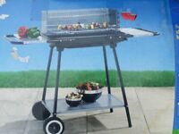 Wilkos Florida Charcoal Trolley Barbeque