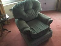 Small sofa & 2 chairs free for uplift