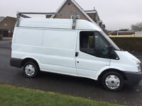 2007 ford transit mk7 t260 simi high top 11 months m-o-t,110k,ready for work £1695ovno