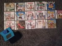 Dsi bundle 16 games and console