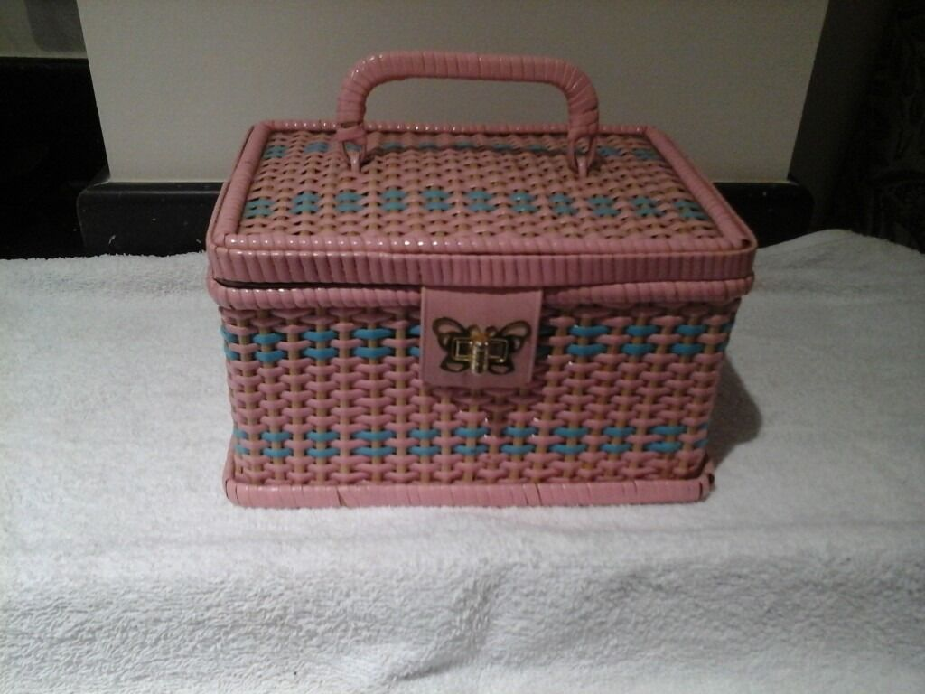 Sewing Basket from the 1960s