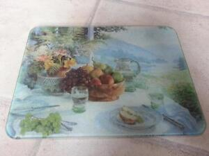 Glass Cutting Board Pretty
