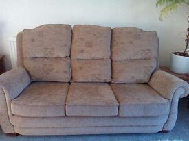 3 seater settee and armchair
