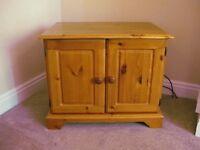 Pine TV Cabinet.