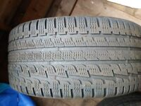 4 x Kumho Winter Tyres for C Class mercedes, 2x 245/40R17 & 2x 225/45R17