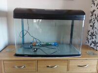 Aqua One 850 fish tank 165L- used