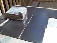 20 x black gloss wall tiles