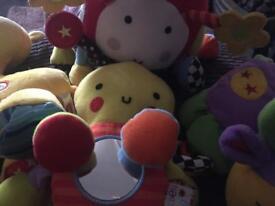 Various baby toys (redkite/little tikes)