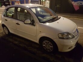 11 Months MOT, Cotreon C3, White 2010, 1.1 Petrol Manual For Quick Sale £1190 ONO