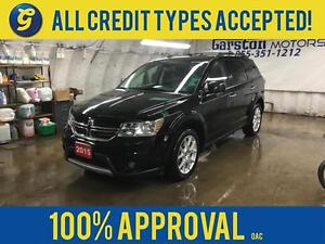 2015 Dodge Journey R/T*AWD*LEATHER*REMOTE START*HEATED FRONT SEA