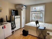 Great self-contained studio in SW5!
