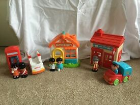 Early learning centre happy land village items