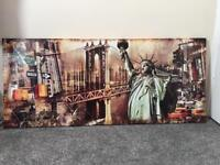 Large New York canvas picture