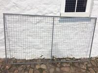 Mesh panels 8ft x 4ft ideal for dog run etc