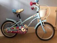 Apollo Blue Cherry Lane Child's Bicycle. Girl's Bike.