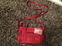 Red Radley shoulder bag, as new