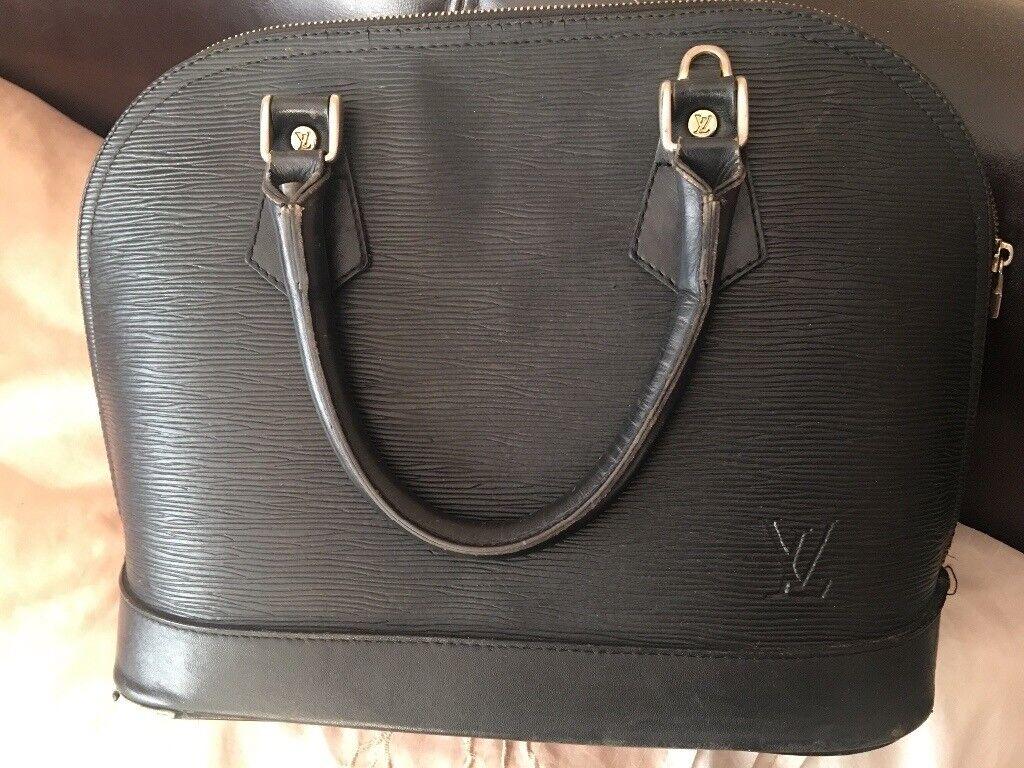 Genuine Louis Vuitton Vintage Alma Bag