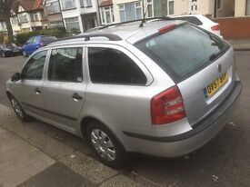skoda octavi 2007 diesel,long mot,service history,two owners,145400 miles,services done on time